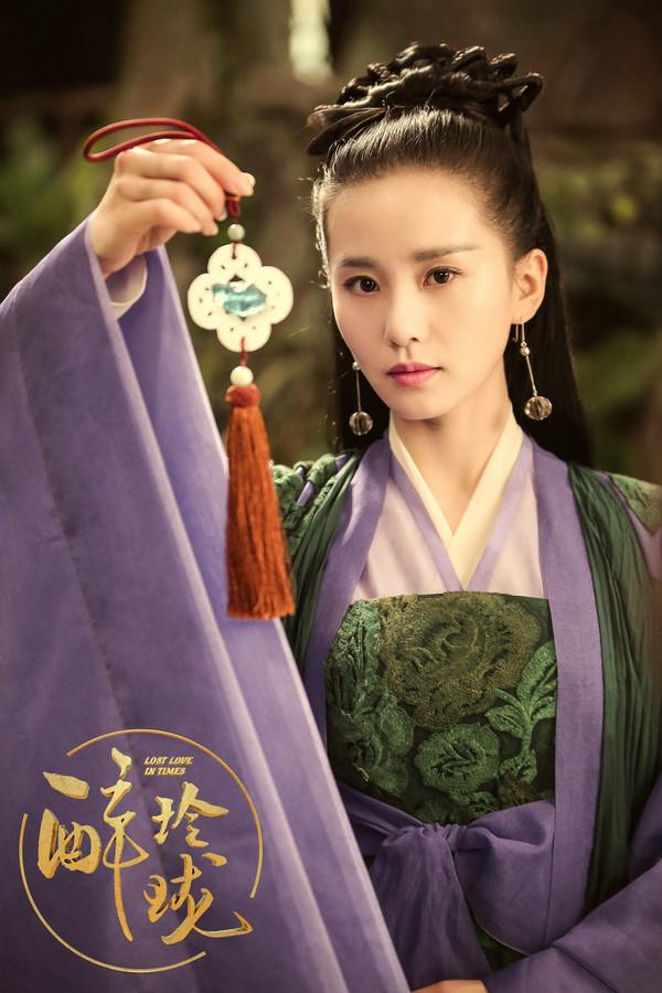 2017年1月6日,电视剧《醉玲珑》剧照。刘诗诗