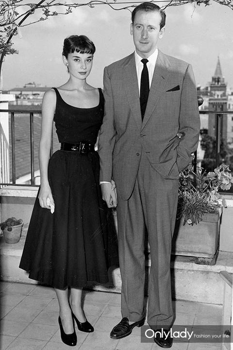 Audrey Hepburn, engaged briefly to James Hanson