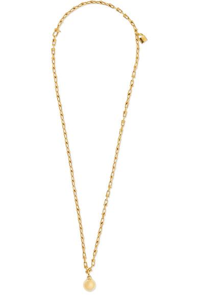 Tiffany & Co. Wrap 18K 黄金项链