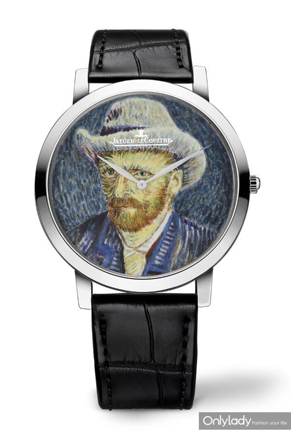 积家Master Ultra Thin艺术大师超薄珐琅彩绘表腕表