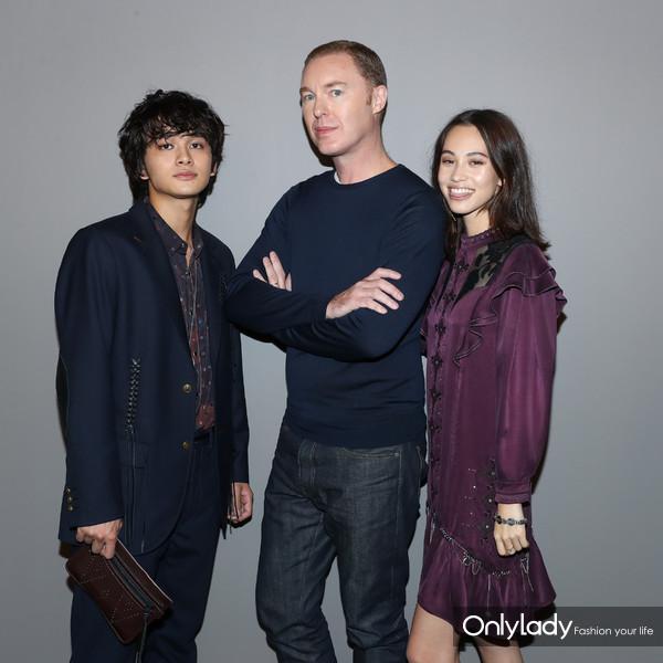 Takumi Kitumura, Stuart Vevers, Kiko Mizuhara