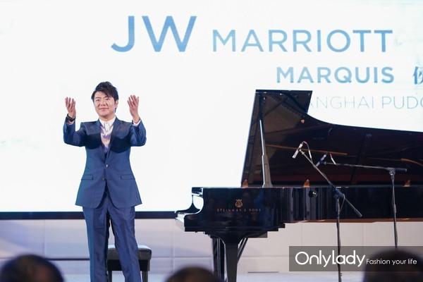 上海鲁能JW万豪侯爵酒店首位客人-国际钢琴大师郎朗先生