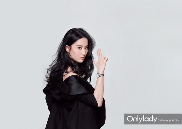 图16:黄晓明、刘亦菲天梭表全新平面广告形象揭晓