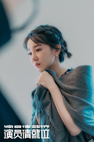 萧邦伴演员陈小纭参演真人秀节目《演员请就位》