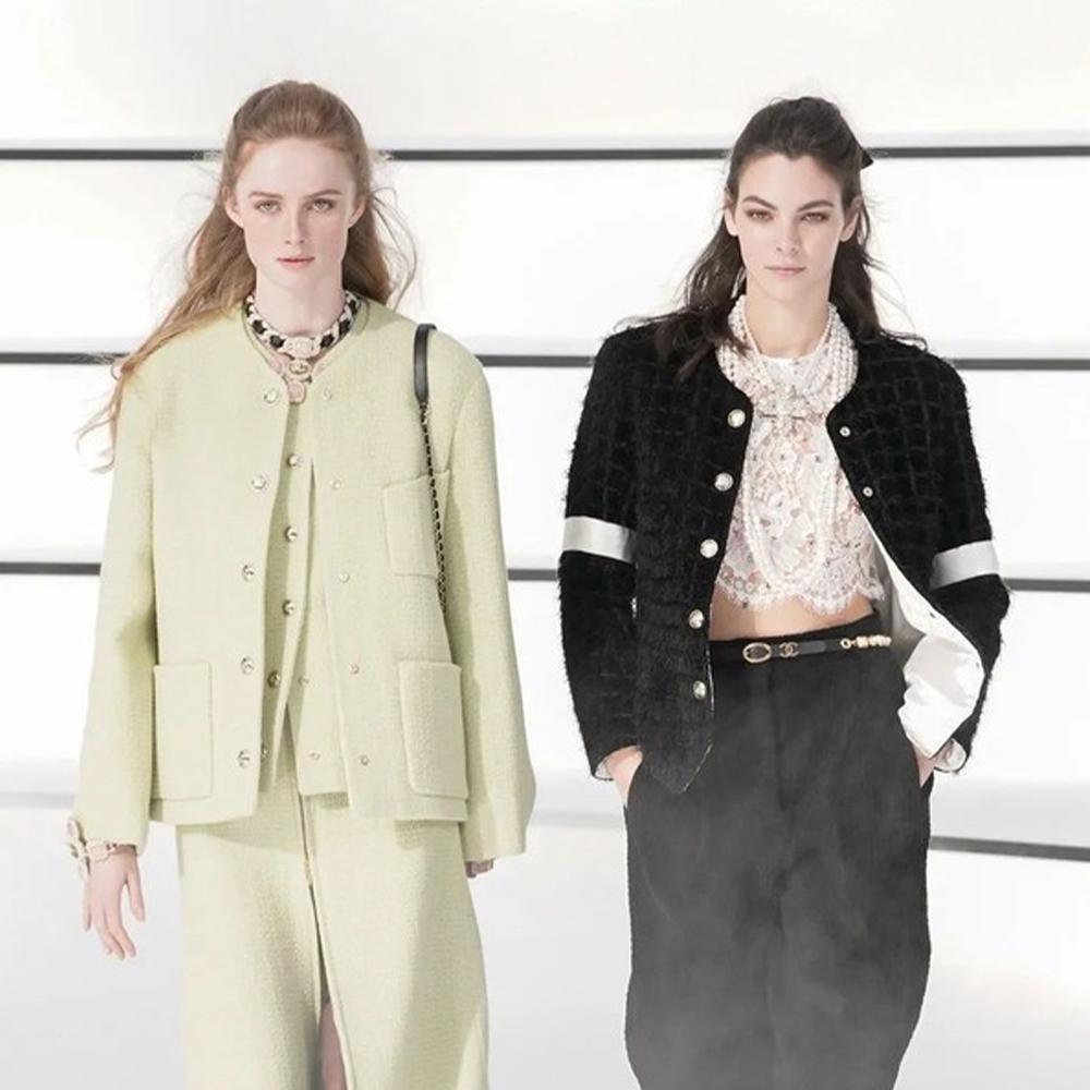 巴洛克珠宝、骑士裤、还有结伴走秀! Chanel这一季太太太美了吧!