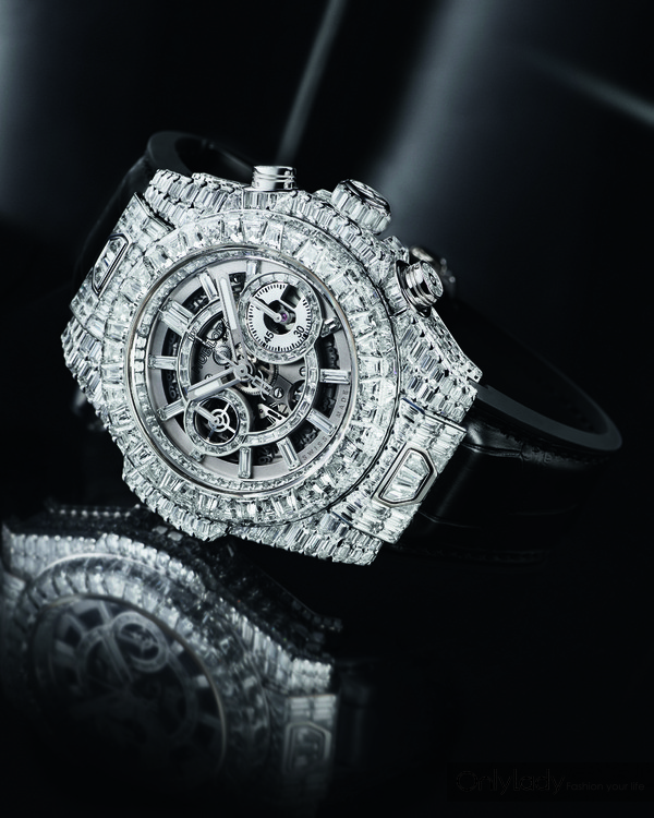 8.HUBLOT宇舶表Big Bang Unico Haute Joaillerie腕表