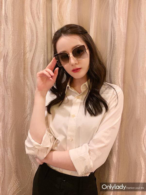 迪丽热巴LE MAGNIFIQUE Sunglasses (3)