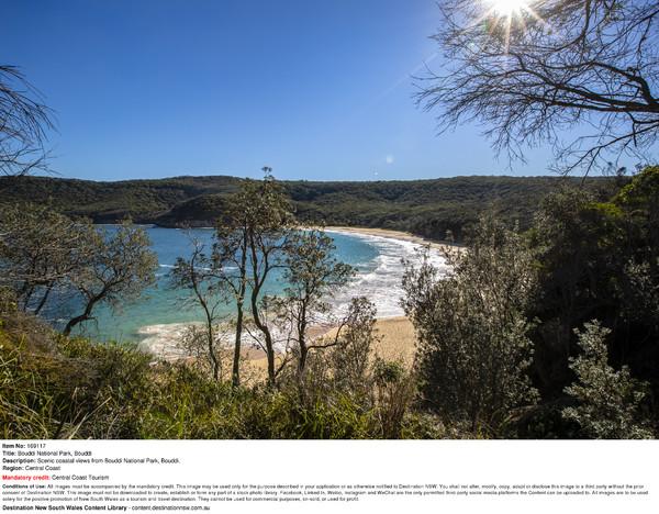 Scenic coastal views from Bouddi National Park, Bouddi. (2)