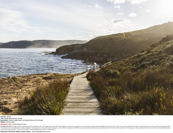 Scenic coastal views from Bouddi National Park, Bouddi.