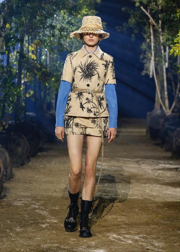 迪奥二零二零春夏成衣 一副描绘身体的地图插图(13)