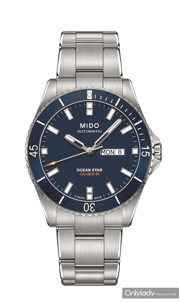 瑞士美度表OCEAN STAR领航者系列长动能防水腕表 M026.430.11.041.00 - 产品图