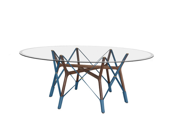 Serpentine Table by Atelier Oi