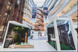 "【Rado快讯】Rado瑞士雷达表""Feel It! 感不同 敢不同""体验展于上海新世界大丸百货盛大启幕46"