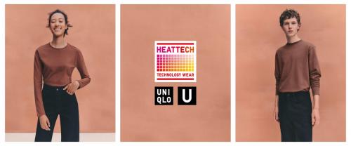 Uniqlo U系列首款HEATTECH商品10月温暖上市