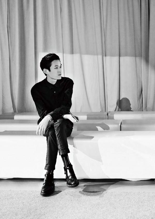 GXG再度携手国际青年设计师陈鹏,打造联名羽绒,定义羽绒时尚