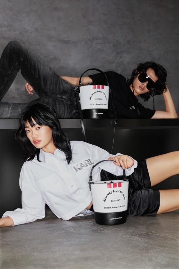 美食+时尚=?KFC X KARL LAGERFELD发布会给你答案!插图(1)