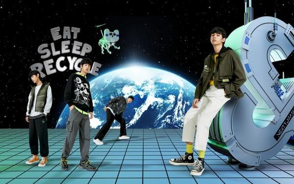 "JACK & JONES杰克琼斯携手马来西亚艺术家 Radio Woon  发布""未来潮流""联名系列插图"