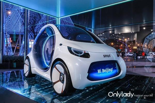 2. smart Concept Car 2017具备L5级别的自动驾驶