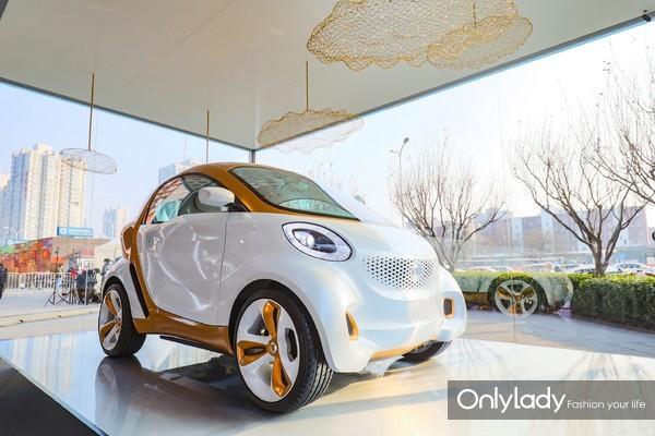 3. smart Concept Car 2011搭载全球第一款能够通过阳光产生能量的透光车顶