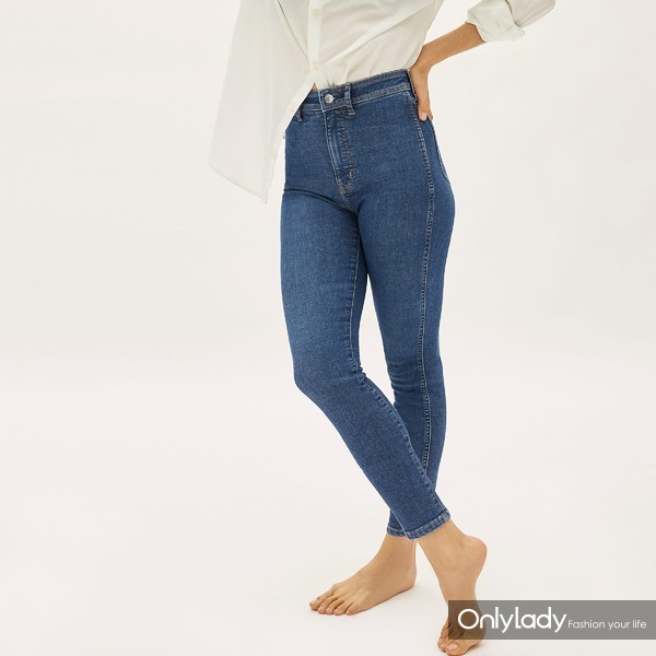 Way-High高腰紧身牛仔裤2