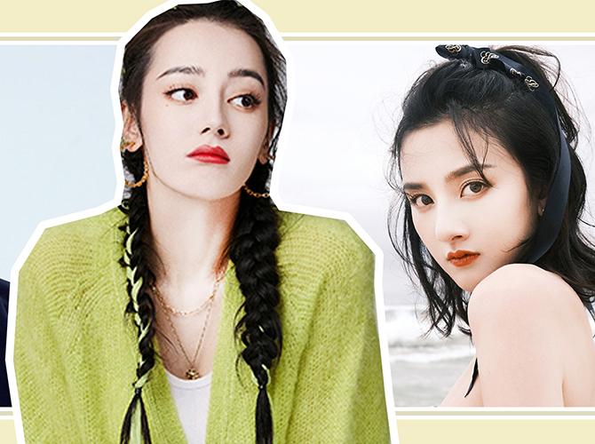浓颜系女星迪丽热巴、Lisa明艳又洋气的秘诀..