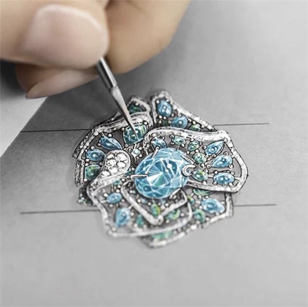 ROSEDIOR 高级珠宝系列 成为迪奥先生笔下的隽永证明