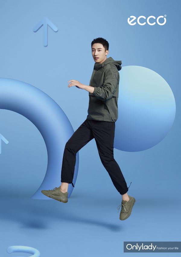 ECCO品牌代言人黄景瑜 - ECCO CHUNKY SNEAKER 潮趣系列