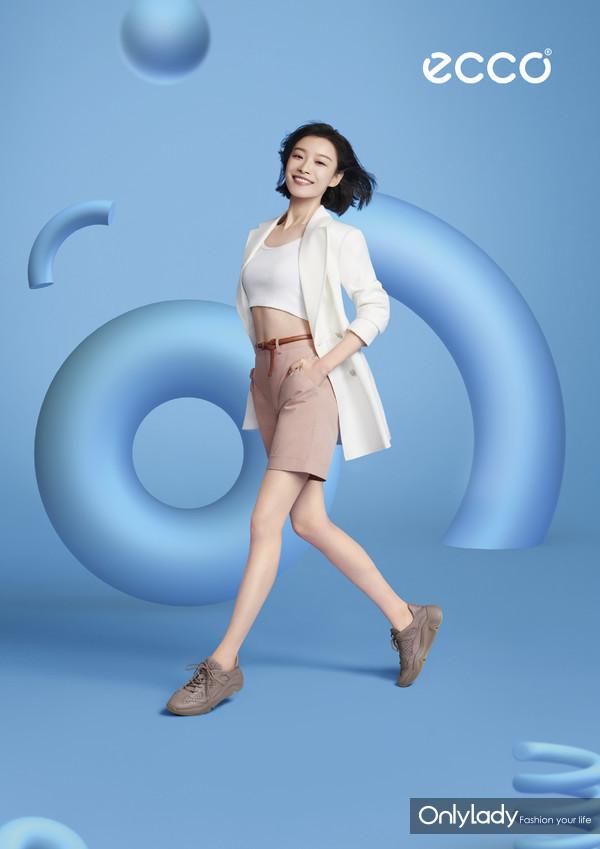 ECCO品牌代言人倪妮 - ECCO CHUNKY SNEAKER 潮趣系列