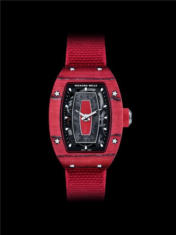 RICHARD MILLE里查德米尔推出限量款纪念腕表:RM 07-01