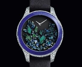 迪奥DIOR GRAND SOIR系列高级腕表 探访神秘花园