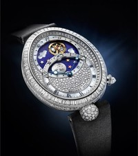 宝玑全新那不勒斯王后日夜显示高级珠宝腕表
