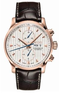 瑞士美度表舵手系列80周年限量款计时腕表