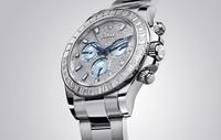 劳力士推出新款宇宙计型迪通拿镶钻腕表