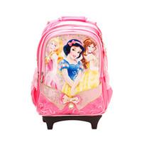 迪士尼公主儿童拉杆书包