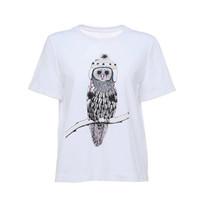 欧时力猫头鹰短袖T恤