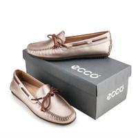 ECCO2014春夏 女士豆豆鞋