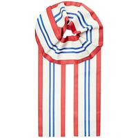 Undercover 女士三色条纹围巾