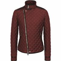 Hogan 2014新款男士酒红色夹克外套