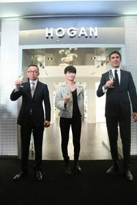 HOGAN重庆时代广场精品店隆重揭幕 低调诠释意式优雅奢华风尚