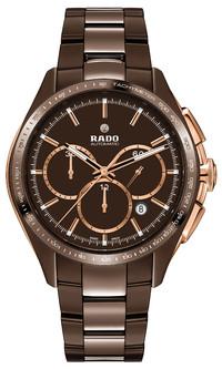 RADO瑞士雷达表与材质 - 巧克力棕色高科技陶瓷