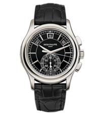 百达翡丽 复杂功能时计系列铂金款式男士腕表
