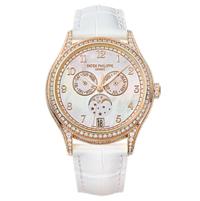 百达翡丽 复杂功能时计系列玫瑰金款式女士腕表