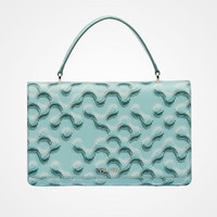 普拉达Prada 微型印花 Saffiano 皮革手袋