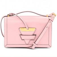 罗意威Loewe 巴塞罗那粉色单肩包