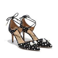 菲拉格慕 裹式蝴蝶结高跟鞋