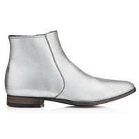Tom Ford 格洛斯特银色及踝靴