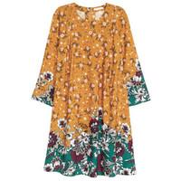 H&M 女士粘纤印花连衣裙