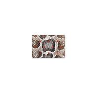 纪梵希Givenchy 红十字印花蟒蛇皮名片盒