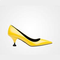 普拉达Prada 磨砂皮高跟鞋
