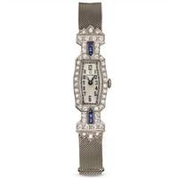 欧米茄Omega 艺术蓝宝石珠宝腕表